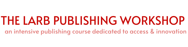 The LARB Publishing Workshop